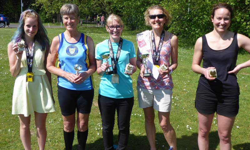 Winning women for the Hlifax Harriers