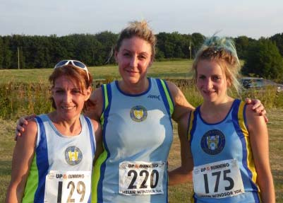 Podium positions for three Halifax ladies